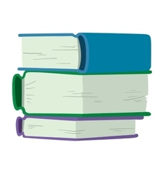 Book icon vector image