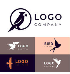 branding for travel zooshop or other company vector image