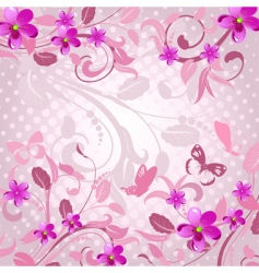 Flower clipart vector image