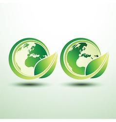 Green global label vector