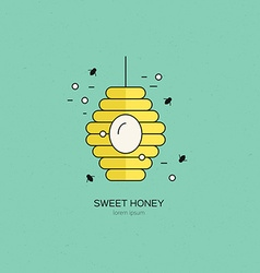 Hive logo vector