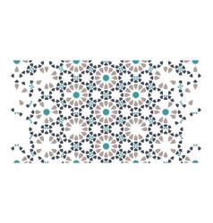 Morocco arabian seamless art pattern vector