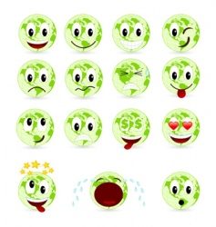 set smiles vector image