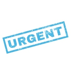 Urgent Rubber Stamp vector