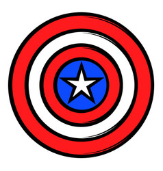 Usa star icon cartoon vector