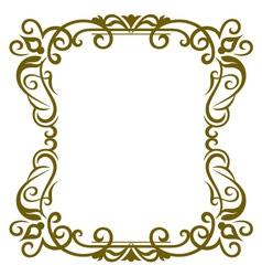 Frame design vector image vector image