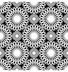 rosette pattern vector image vector image