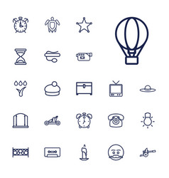 22 old icons vector