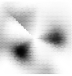 abstract halftone texture black and white vector image