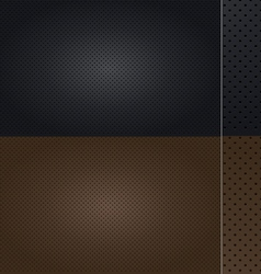 Automotive Leather set vector image