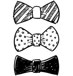 Bowties vector