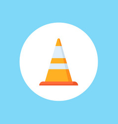 cone icon sign symbol vector image