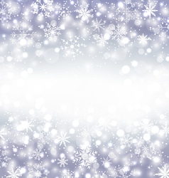 Navidad purple background with snowflakes and copy vector image
