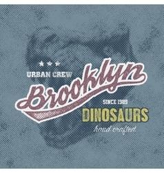 New York typography vector