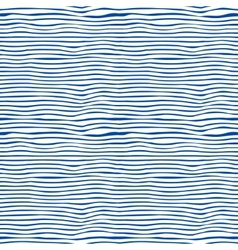 Seamless blue and white stripes background vector image vector image