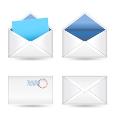 Mails set vector