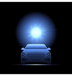 car light transport Flash vector image