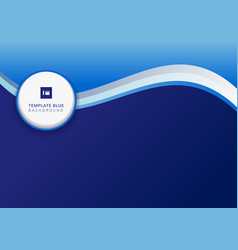 abstract corporate banner design template header vector image