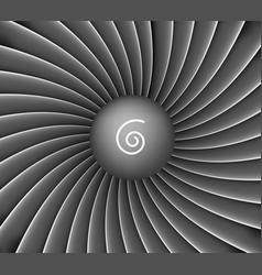 aircraft engine turbine background vector image