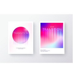 bright pink and purple modern gradient poster or vector image