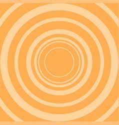 circle on orange background background vector image