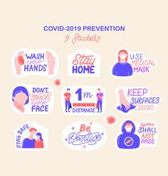 coronavirus covid19-19 prevention vector image