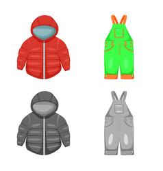 Design fashion and garment logo set of vector
