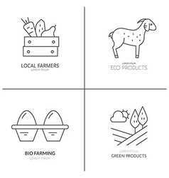 Farming Logotype vector