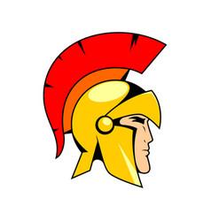 Spartanhead logo vector