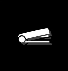 stapler icon flat vector image