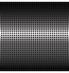 steel mesh background vector image