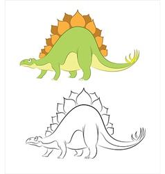 Stegosaur vector