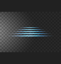 steps podium glow isolated blue transparent vector image