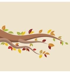 Autumn brunch vector image