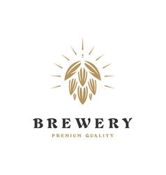 Brewing company logo logo vintage vector