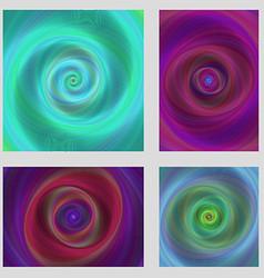 Colorful motion design brochure background set vector image
