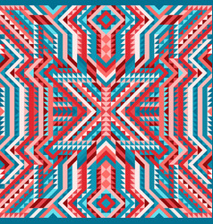Ethnic tribal seamless pattern aztec style vector