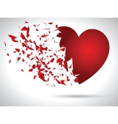 Exploding heart 0912 vector