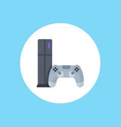 game console icon sign symbol vector image