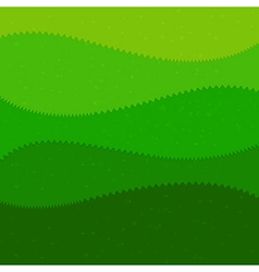 Green grass cartoon kids style background vector
