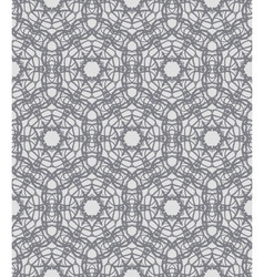 Grey lacing ornamented pattern with Swedish motifs vector
