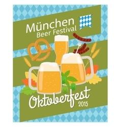 Oktoberfest 2015 poster vector