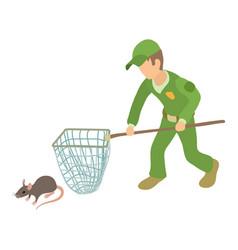 Pest control icon isometric style vector