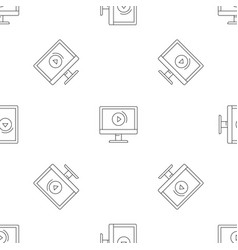 video online pattern seamless vector image