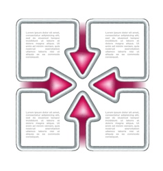 Conceptual corporate template vector image