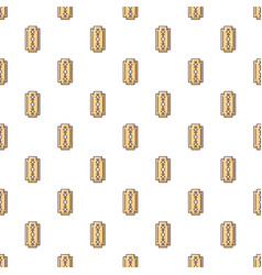 blade razor pattern seamless vector image