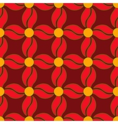 Flower seamless pattern 2 vector image vector image