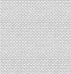 Seamless Pattern of Garter Stitch vector image vector image