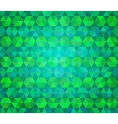 Abstract background Stylized flat design with hand vector image