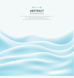 Abstract of wave soft blue sea gradient pattern vector